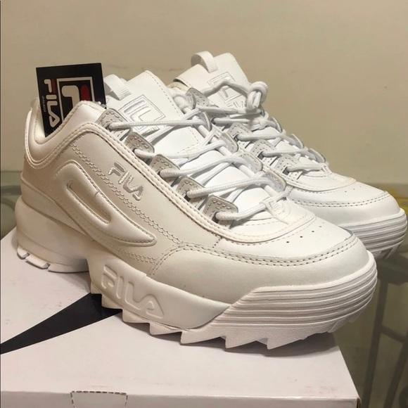 Brand New Men's Fila Disruptor 2 Shoes NWT